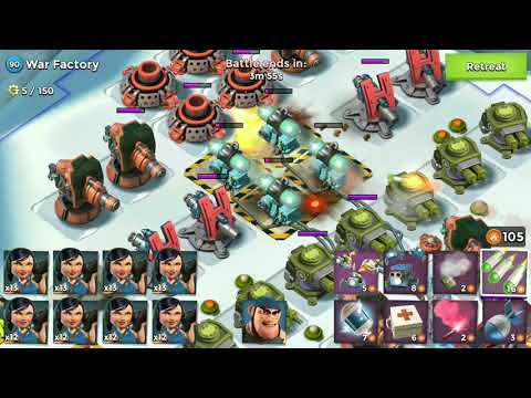 Boom Beach-War Factory | Unboosted [19-Apr-2018]