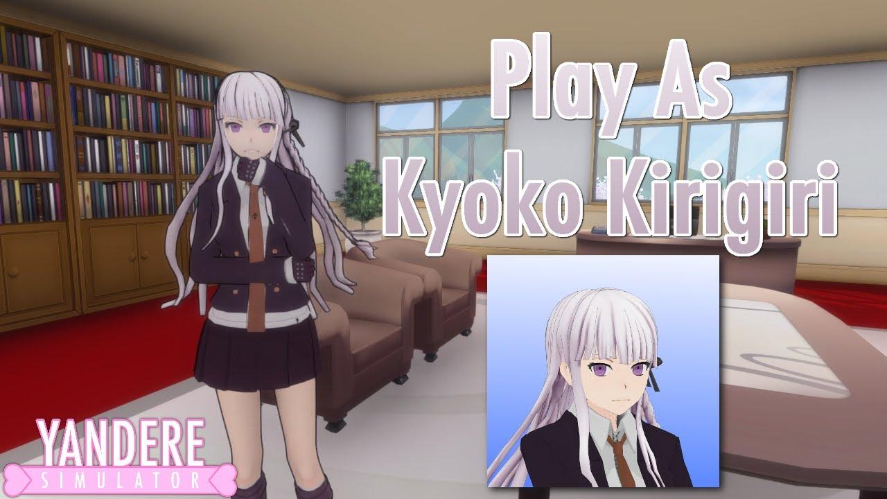 Play As Kyoko Kirigiri - Yandere Simulator Mod