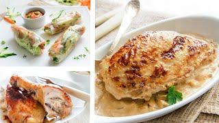 Что приготовить ИЗ КУРИЦЫ: 3 блюда из курицы на СКОВОРОДЕ🍴Простые, быстрые и вкусные рецепты