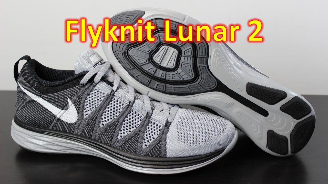 new concept f3d2d 241f8 Nike Flyknit Lunar 2 Wolf Grey - Unboxing + On Feet
