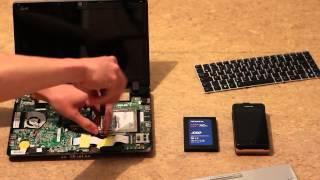 Asus EeePC 1201N SSD Upgrade
