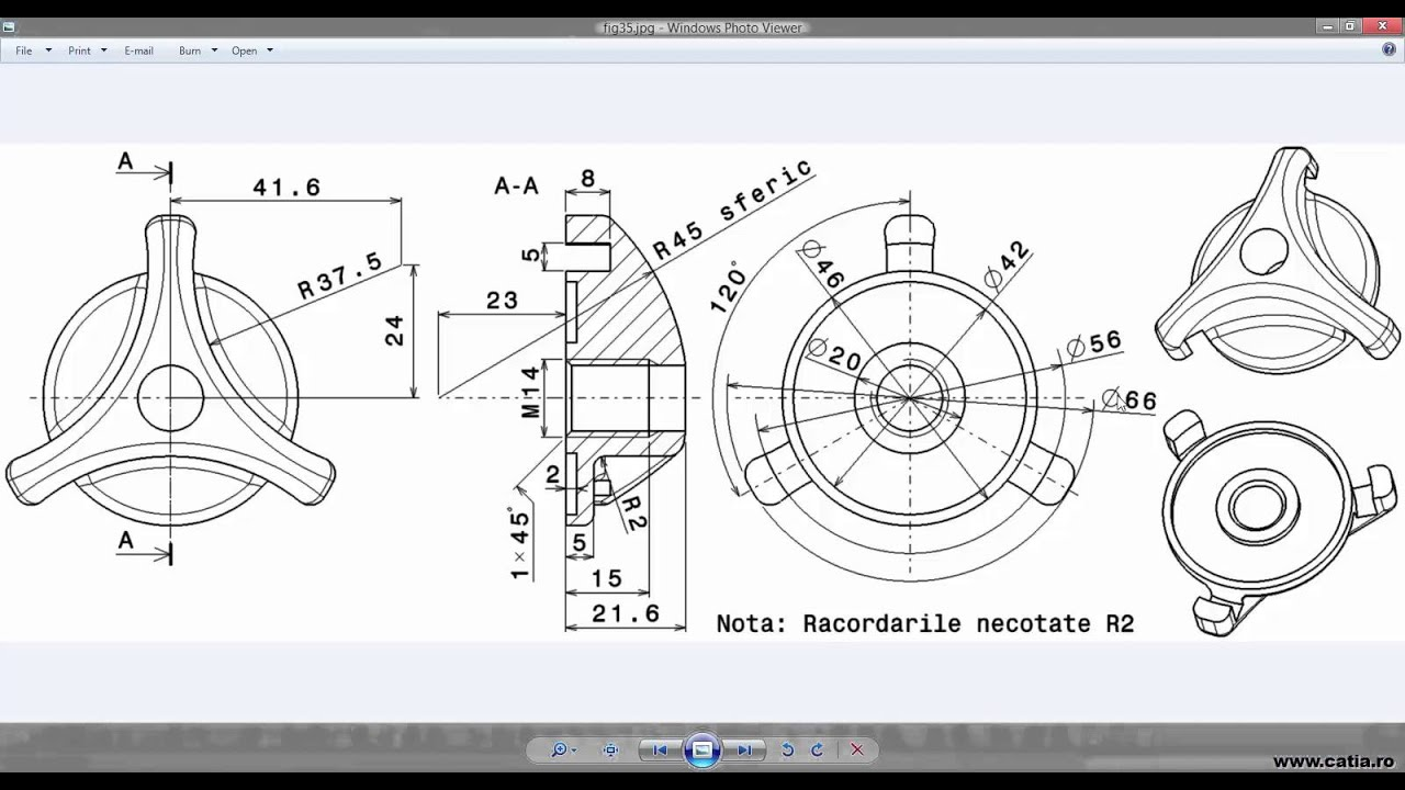 How to create a mechanical part using CATIA Part Design 12