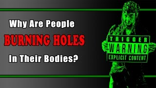 Why Are People Burning Holes In Their Bodies? (Bloodroot, Black Salve)