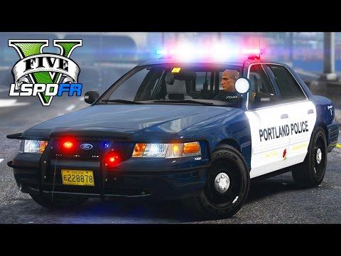 GTA 5 - LSPDFR Ep251 - Portland Rainy Patrol!!