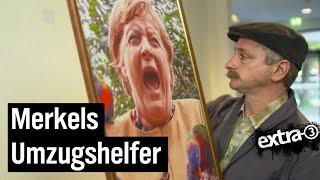 Merkel zieht um – Kanzleramt-Hausmeister Johannes Schlüter im Stress