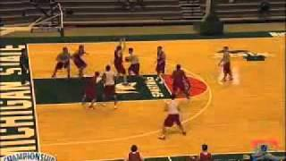 Tom Izzo s Unorthodox Attack on Zone Defenses.flv