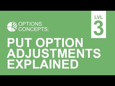 Put Option Adjustments Explained