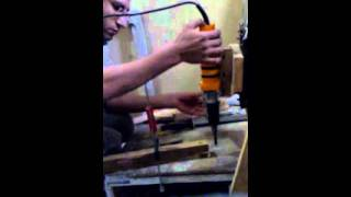 Home Made Wood Carving Machine