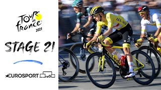 2021 Tour de France - Stage 21 Highlights | Cycling