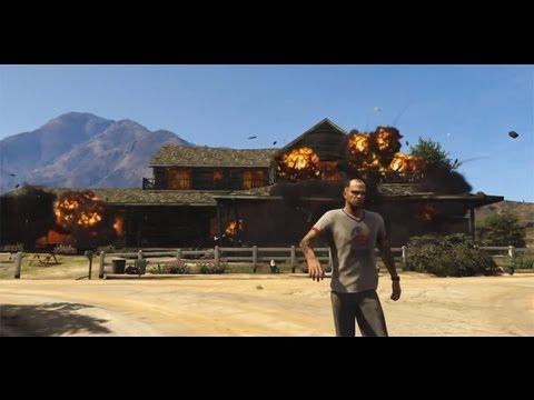 GTA 5 - Modo História 10 - Explodindo Tudo Like a Boss