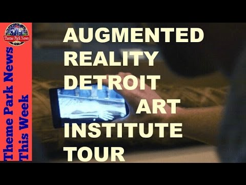 Theme Park News This Week | AR Detroit Institute of Arts tour S2E3