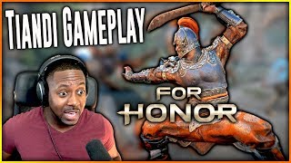 For Honor Tiandi Gameplay ∙ Breach [New Game Mode] Marching Fire Reaction