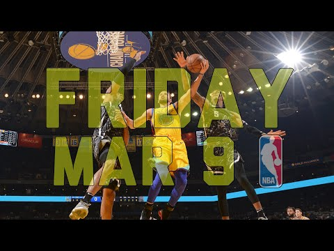 NBA Daily Show: Mar. 9 - The Starters