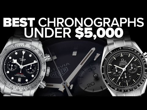 Best Chronographs Under $5000 | From $300 And Up (2019)