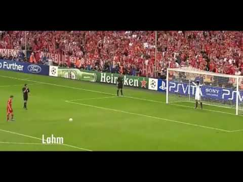 Happy and sad moments of UEFA champions league penalties