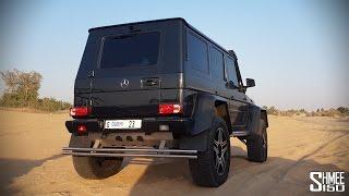 شاهد: تجربة لقيادة مرسيدس-بنز G500 في صحراء الإمارات