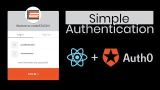 Simple React.js User Login Authentication | Auth0