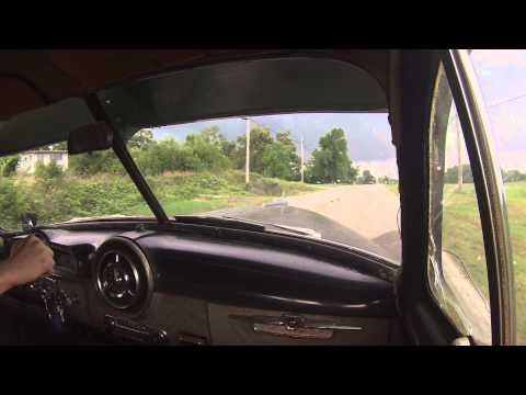 Driving my 1951 Pontiac Chieftain