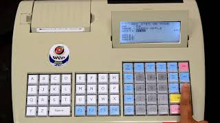 WeP BP-2100 Billing Printer Hindi-How To Enter Items Into The Database With UDF Enabled-005