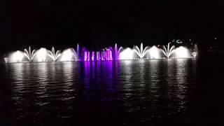 Абрау-Дюрсо Шоу Поющие фонтаны часть 4
