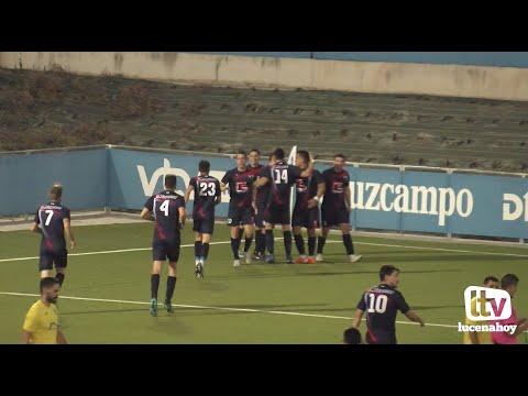 VÍDEO: Primera Andaluza: Resumen del partido C.D. Lucecor - Atl. Palma del Río (1-1)