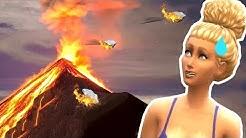 TULIVUORI YRITTÄÄ SABOTOIDA RASKAUTTANI   Pelataan The Sims 4: Unelmasaari #4