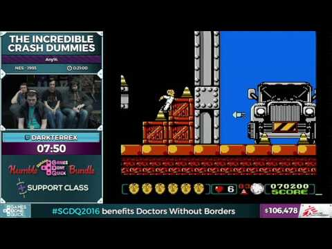The Incredible Crash Dummies by DarkTerrex in 0:17:00 - SGDQ2016 - Part 24