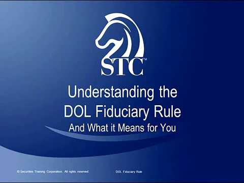 Understanding the DOL Fiduciary Rule