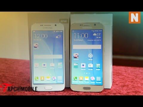 Cách phân biệt Samsung galaxy S6 chính hãng và S6 Trung Quốc
