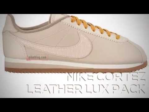 Nike Cortez Leather Lux Pack Peace X9