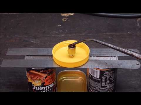 More on the wire wick lathe oil cup - plus a demonstration