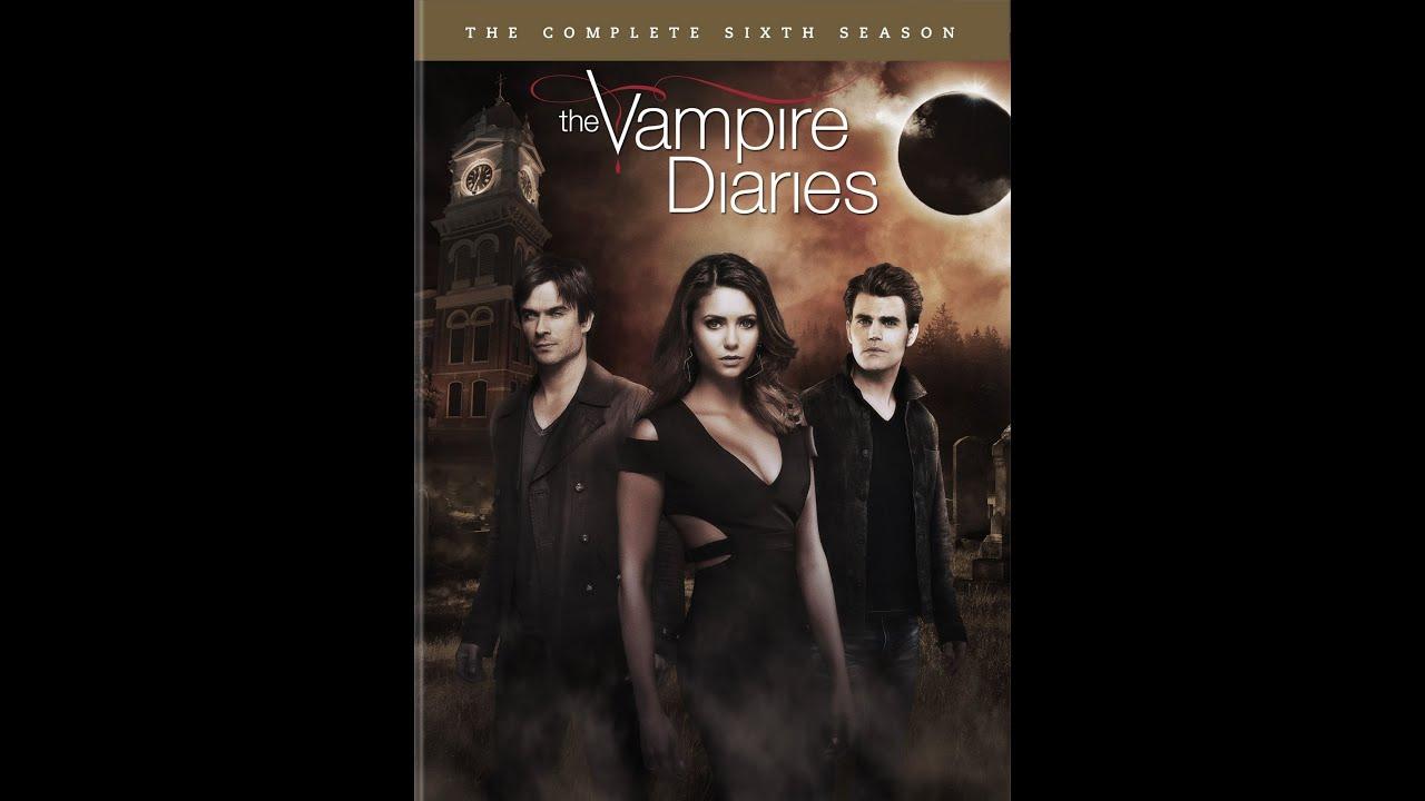 vampire diaries season 6 dvd unboxing youtube. Black Bedroom Furniture Sets. Home Design Ideas