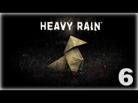 Смотреть прохождение игры Heavy Rain. Серия 6 - Ты Антихрист!