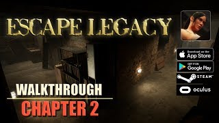 Escape Legacy Chapter 2 Walkthrough Ancient Scrolls Level 2 iOS/Android/PC/Oculus/Cardboard 3D VR HD