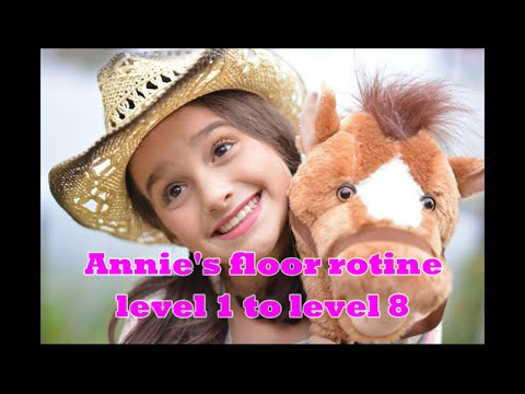 Thumbnail: Annie's Floor Routine from Level 1 to Level 9 (With Music)