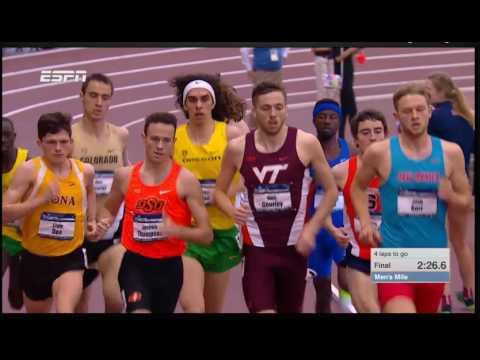 """Mighty"" Sampson Laari 2017 NCAA Indoor Championships Mile Final"