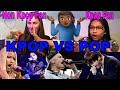KPOP Vs POP 2017 REACTION (BTS, Justin Bieber, EXO, Nick Minaji)