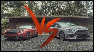 Ford Focus RS vs. Abarth 124 Spider (modded) | Roll Race
