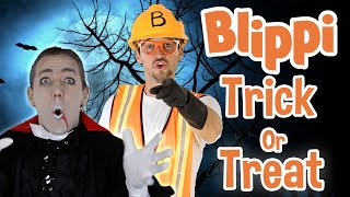 Blippi | Trick or Treat + MORE ! | Halloween Special | Songs for Kids |  Educational Videos for Kids
