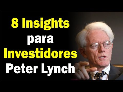 (8 DICAS de INVESTIMENTOS) O Jeito Peter Lynch de INVESTIR