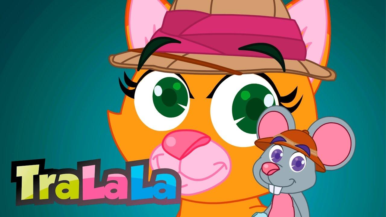 Șoricelul și pisica - Cântece pentru copii | TraLaLa