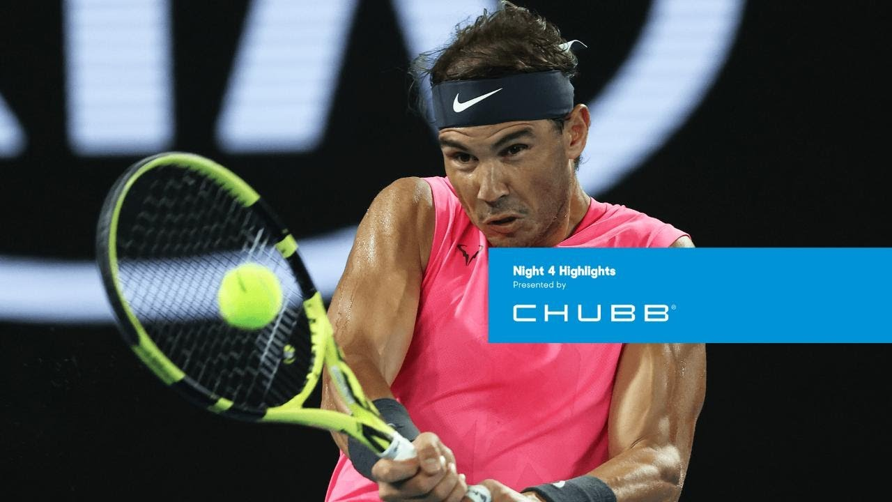 Rafael Nadal Simona Halep Put On Flawless Display Australian Open 2020 Day 4 Youtube