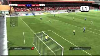 FIFA 11  Be A Goalkeeper Tutorial