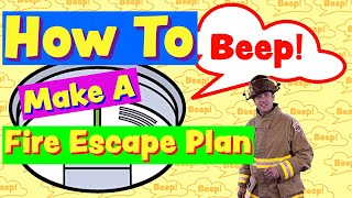Educational Videos For Toddlers   Fire Safety For Kids   5 Steps To Make A Fire Safety Plan