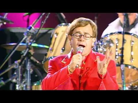 Elton John - Queen & Tony Iommi - The Show Must Go On 1992 Live