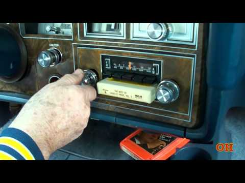 Rare Lincoln Continental 1978 With 8 Track Player HD