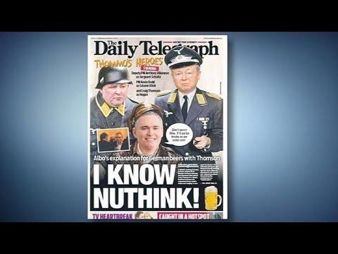 Australian PM Kevin Rudd depicted as Nazi by Rupert Murdoch tabloid