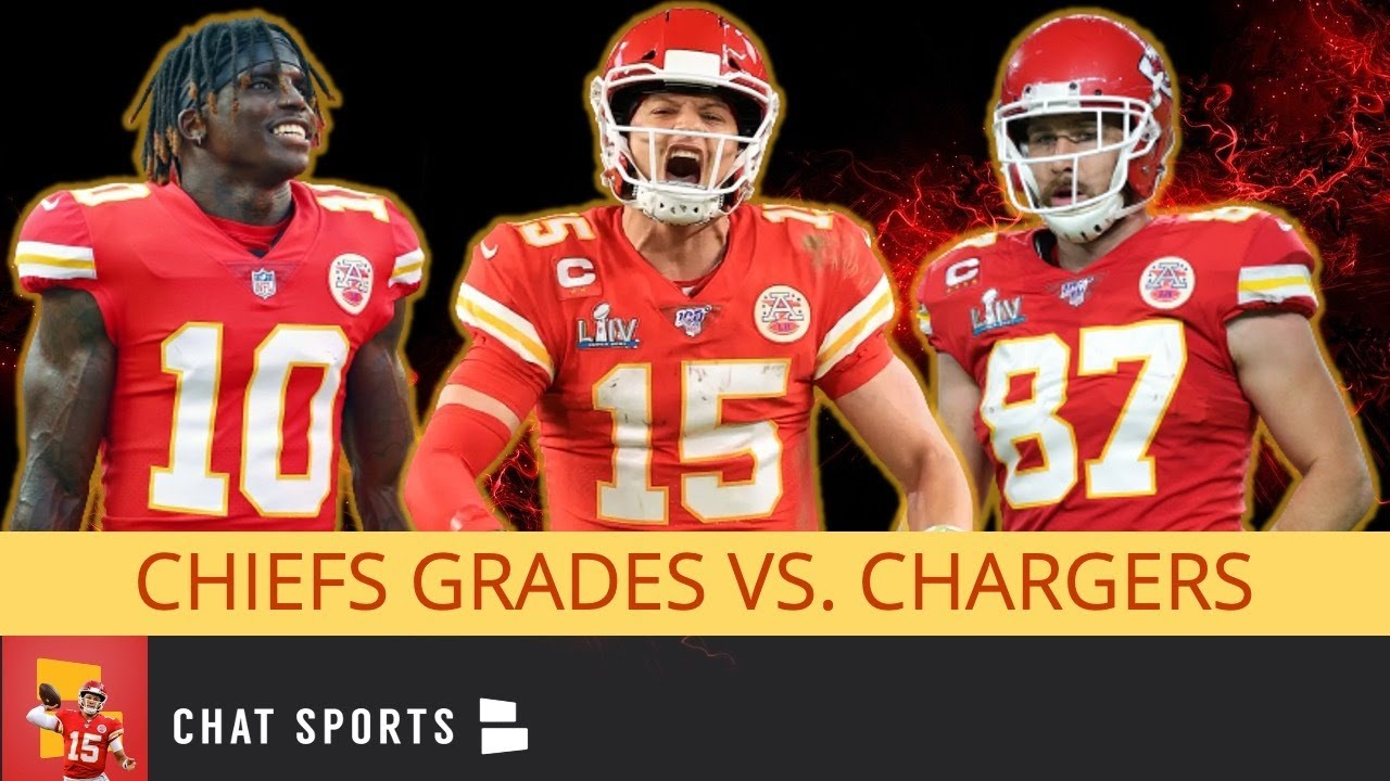 Kansas City Chiefs Grades vs. Chargers: Patrick Mahomes, Harrison Butker, Tyreek Hill & Travis Kelce