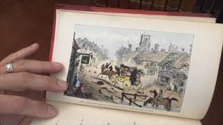 Surtees Hillingdon Hall 1888 Nimmo leather book w/ hand colored plates Wildrake Heath Jellicoe