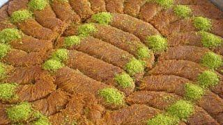 Diyarbakır Burma Kadayıf Nasıl Yapılır - Turkish Dessert Recipe - Burma Kadayıf